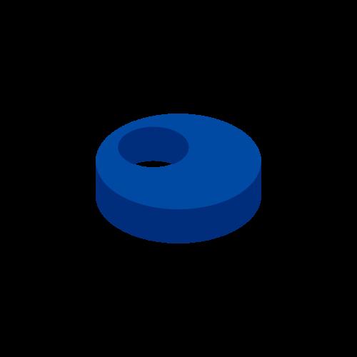 The Round Courtyard – Dark Blue